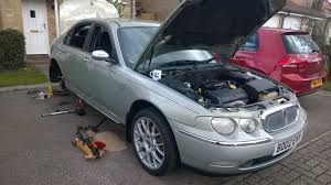 Our Cars : Mike's Rover 75 - how I hate shoe shopping! - AROnline