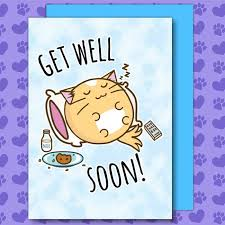 Get Well Card Get Well Soon Card