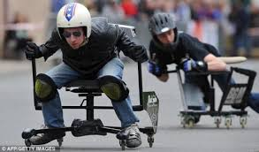 crazy office chairs. crazy office chairs race