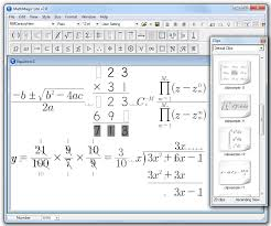 equations created with mathmagic lite are not allowed in any commercial material or public contents or on the web