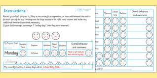 Reward Chart For 2 Year Old Free Home Behaviour Progress Chart Home Behaviour