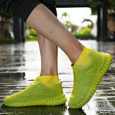 <b>Rain Waterproof Shoe Cover</b> Thicken <b>Non</b>-<b>slip</b> Wear Resistant ...