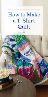 How to Make a T-Shirt Quilt | Hallmark Ideas & Inspiration &  Adamdwight.com