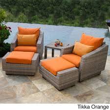 wicker patio set lounge chair outdoor