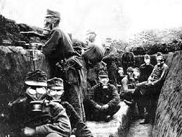 Виды химического оружия и его поражающие факторы Химическое оружие Первой мировой войны