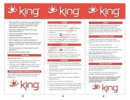 King K 35 FIRIN MİNİ Elektrikli Mini Fırın - Kullanma Kılavuzu - Sayfa:5 -  ekilavuz.com
