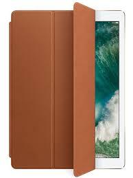 Кожаный <b>чехол</b>-<b>обложка Apple Leather Smart</b> Cover Saddle Brown ...