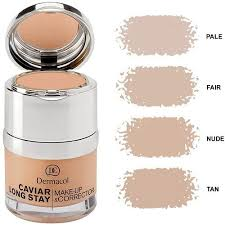 dermacol long stay caviar makeup