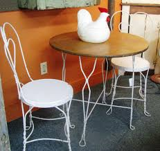 elegant ice cream table and chairs 29