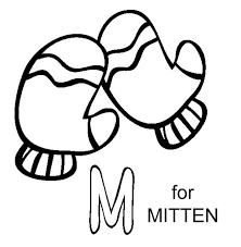 Small Picture Winter Mittens To Color Coloring Coloring Pages