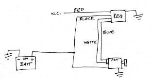 12 volt one wire alternator wiring diagram images remy colorful wiring diagram 12 volt 1 wire alternator nilza net on