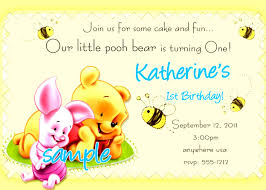 kid birthday invitation card template
