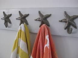 Bathroom  Cheerful Bathroom Design With Black Metal Towel Hook - Bathroom towel design