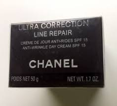 chanel ultra correction line repair. chanel ultra correction line repair anti-wrinkle day cream spf 15 n/b sealed