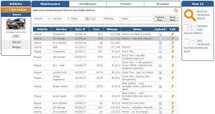 Vehicle Maintenance Tracking Made Easy Motortab Vehicle
