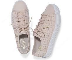 keds women sneakers triple kick perf leather pink 1