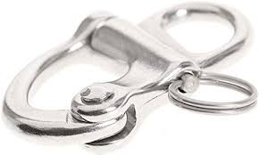 AISI 316 <b>Marine</b> Grade Stainless Steel Fixed Snap Sailing Shackle ...