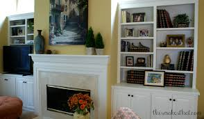 Remarkable How To Decorate White Bookshelves Images Ideas ...