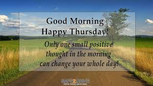 Only One Small Positive Thought In The Morning Can Change Your Whole