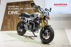 how could honda make the honda grom 125 msx125 even cooler than it already is make a custom honda grom scrambler the interesting thing that has baffled