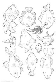 Printable B Fish Coloring Pages Coloring Pages