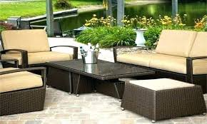 resin patio set furniture clearance com outdoor sets wicker round table