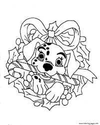 Dalmation Disney For Christmas Coloring Pagebd67 Coloring Pages ...