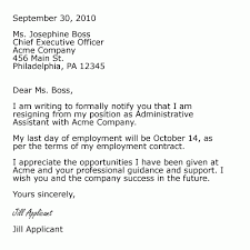 Resignation Letter Samples | Sample Resume Letters Job Application