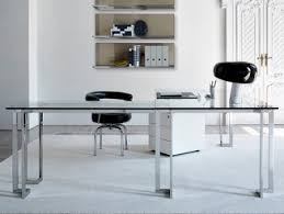 Image Chrome Office Archiproducts Stainless Steel Office Desks Archiproducts