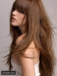 شاهدي بالصور قصات شعر مدرج طويل ليالينا