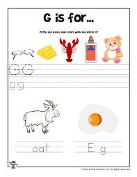 Free, printable phonics worksheets to develop strong language skills. Alphabet Worksheets For Kids Fun Letter G Phonics Recognition Worksheet Woo Jr Activities Free Printable Book Samsfriedchickenanddonuts