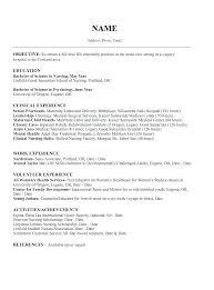 example of best resume resume template for nursing student school sample information