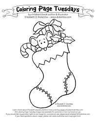 Small Picture Christmas Stocking Coloring Page Disney Coloring Pages Christmas