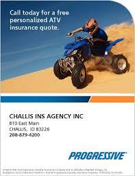 call today for a free personalized atv insurance quote progressive