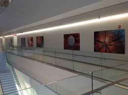 office hallway. Office Hallway Artwork