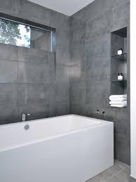 Best Grey Tiles For Bathroom Gray Tile Bathroom Houzz