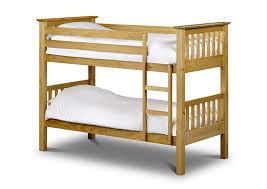 Julian Bowen Barcelona Single Bunk Bed, Antique Pine: Amazon.co.uk: Kitchen  & Home