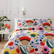 marimekko ojakellukka twin comforter set  marimekko bedding
