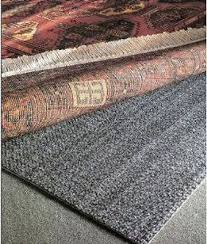 9x12 8x11 rug pad for over carpet non slip teebaud works best of all free