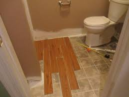 vinyl plank flooring bathroom and water resistant vinyl floor