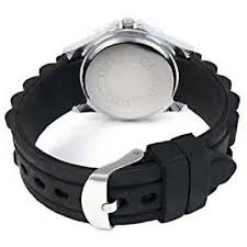 <b>Xmas</b> Dog Black Jelly <b>Silicone Band</b> Unisex Sports Wrist Watch ...