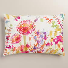 bright colored pillows. Brilliant Bright Featuring Our Whimsical Watercolor Floral Design With Bursts Of Bright Color  Exclusive Throw Pillow With Bright Colored Pillows O
