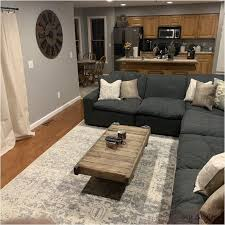Jun 4, 2020 - This Pin was discovered by Savannah Morton. Discover (and  save!) your own Pin… | Living room grey, Dark grey couch living room, Grey  couch living room