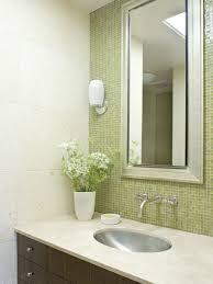 bathroom mosaic tile designs. Bathroom - Contemporary Mosaic Tile Idea In San Francisco With An Undermount Sink And Green Designs