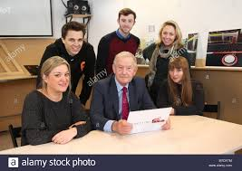 The panel of judges, made up of Wendy Pearson from Direct Line, MP Stock  Photo - Alamy
