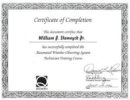 Certificate Attendance Template Completion 7854 Snap Delectable