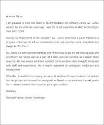 Real Estate Recommendation Letter Sample Testimonial Template Bunnycamp Info