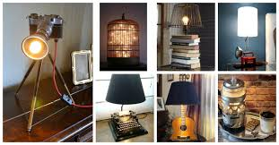 Wonderful Recycled Diy Table Lamps That You Would Love To Make