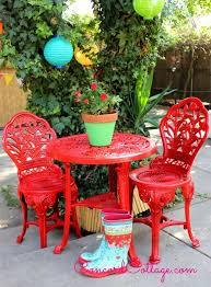 outdoor furniture spray outdoor bistro set spray paint makeover pizzeria ideas furniture spray painting outdoor best