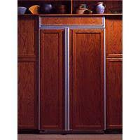 Plain Kitchenaid Superba 42 Refrigerator Built In Side By From On Inspiration Decorating